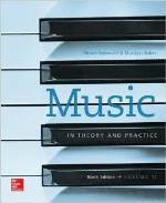 Music In Theory and Practive, Volume 2