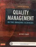 Quality Management in The Imaging Science