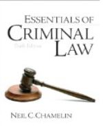 (OPTIONAL TEXT) Essentials of Criminal Law